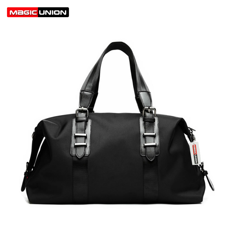 MAGIC UNION Brand Design Oxford Handbags For Men Large-Capacity Portable Shoulder Bags Men's Fashion Travel Bags Package safebet brand high quality pu leather handbags for men large capacity portable shoulder bags men s fashion travel bags package