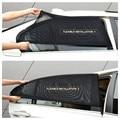 2 Unids Ventana de Coche Parasol Visor Cubierta de la Cortina Parasol Protección UV Escudo de Malla de Polvo Coche Protección Solar Del Mosquito cubre