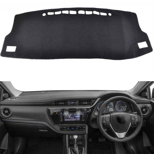 For Toyota Corolla Auris 2014 2015 2016 2018 Dashboard Cover Mat Pad