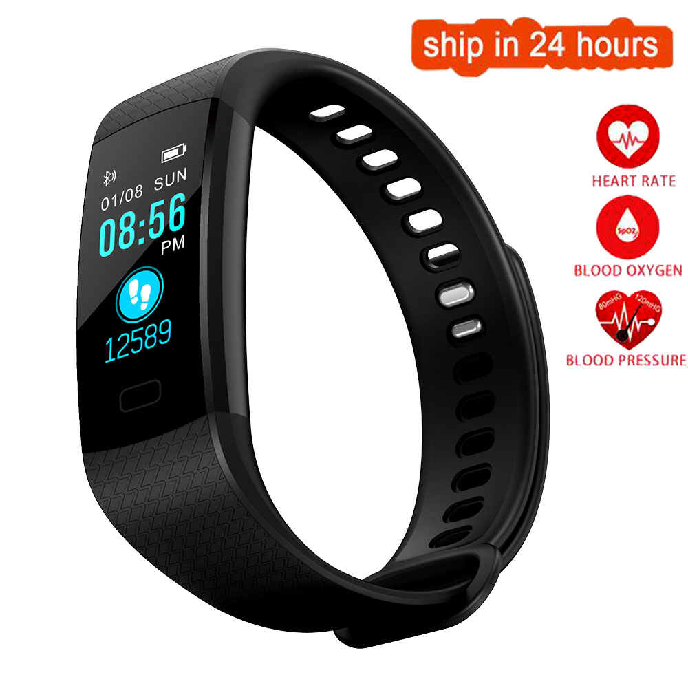 K17 Color Screen Smart Wristband Sports Bracelet Heart Rate Blood Pressure Monitor Fitness Tracker for HTC ONE M8s A9 X9 10 evo