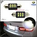 "(10) Lámpara de Xenón Blanco 6-CRE 'E 1.50 ""36mm 6418 C5W CANbus Bombillas LED, Libre de errores Para Audi BMW Mercedes Porsche VW Luces de la Matrícula"