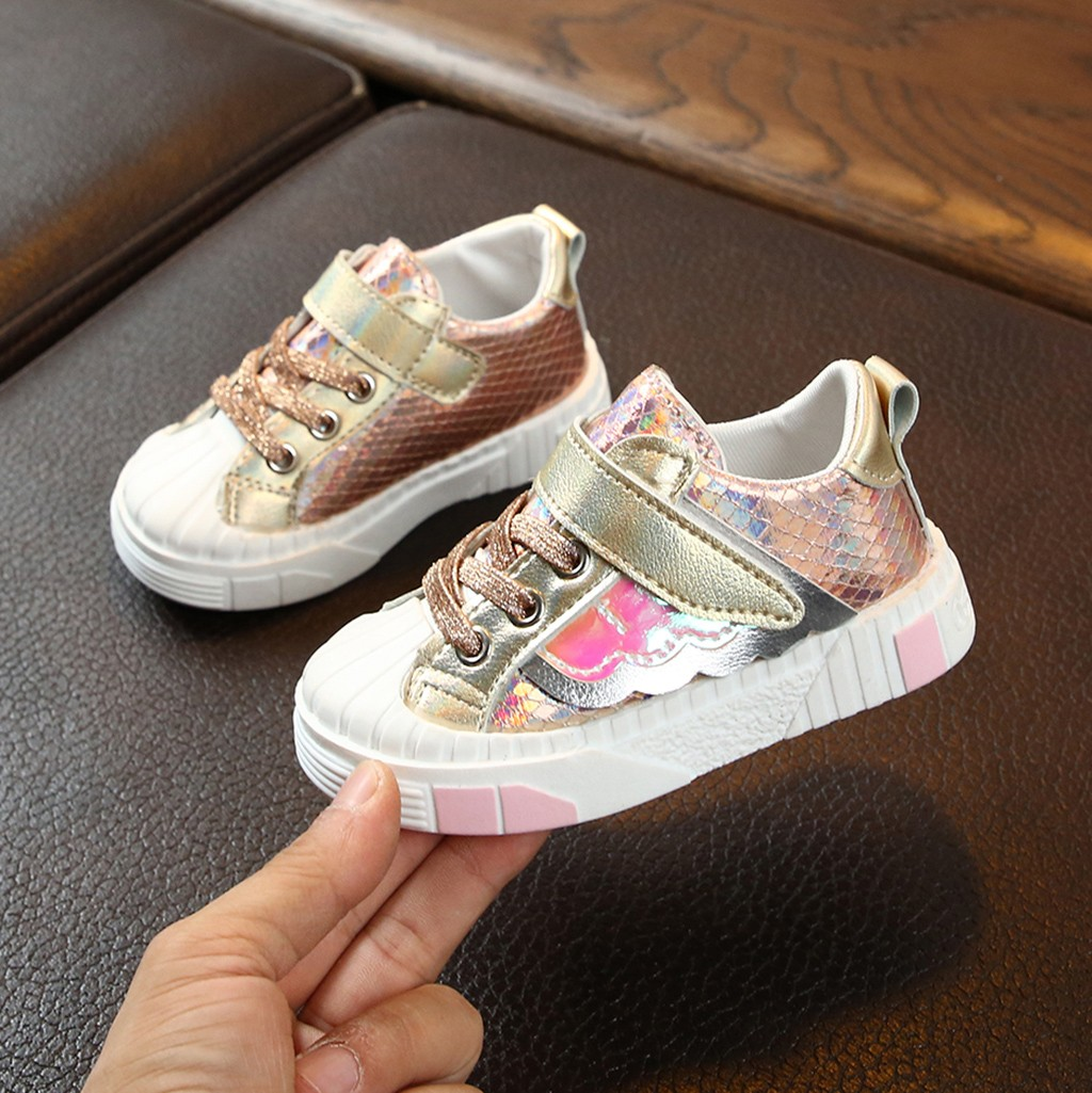 Newborn Infant Polka Dot Bling Baby Girls Shoes Toddler Boy Soft Cotton Anti-Slip Sole Casual Canvas Sneaker For Girl Party Crib