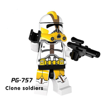 Legoing Star Wars Building Blocks starwars leia Sith Lord Darth Vader Maul Chewbacca Sidious bricks toys kits legoing figures YF(China)