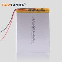 5000 мАч планшетный ПК батарея Li-Po перезаряжаемые батареи 357090 3,7 в Высокая емкость для KUBI U25GT Digma Plane 7700T 4G PS1127PL