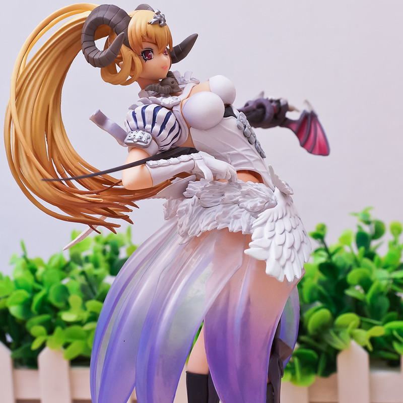 30.5CM Sexy 12 The Seven Deadly Sins - Lucifer Arrogance 1/8 Scale Action Figure PVC Juguetes Anime Figures Brinquedos SS0052 anime the seven deadly sins mammon inoue takuya ver soft chest figure box 22cm 8 66inch