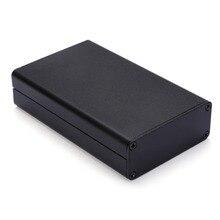 Черный Экструдированный алюминиевый корпус PCB ящик для инструментов DIY электронный проект корпус 80x50x20 мм