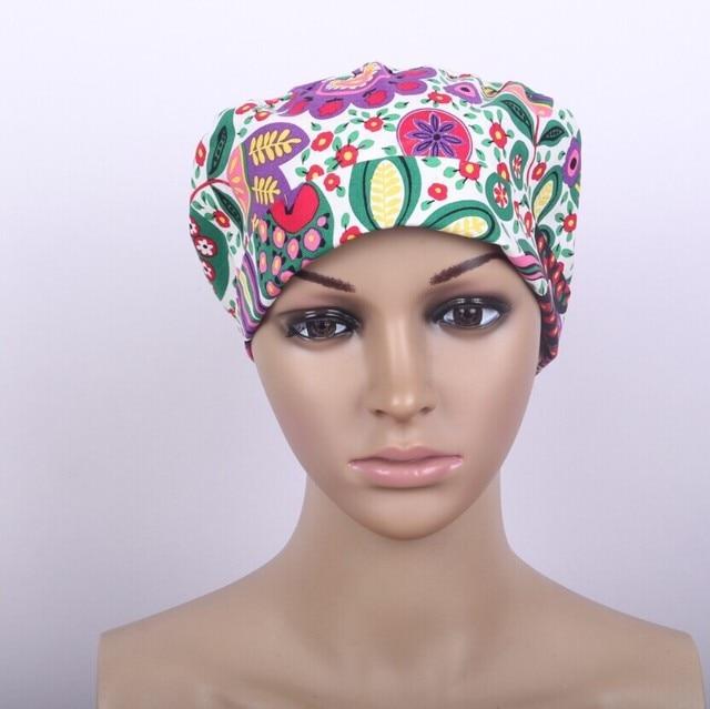 Hospital Jalecos New Design Surgical Cap Medical Caps Scrub for Women  Doctors And Nurse  c1d0922ed973