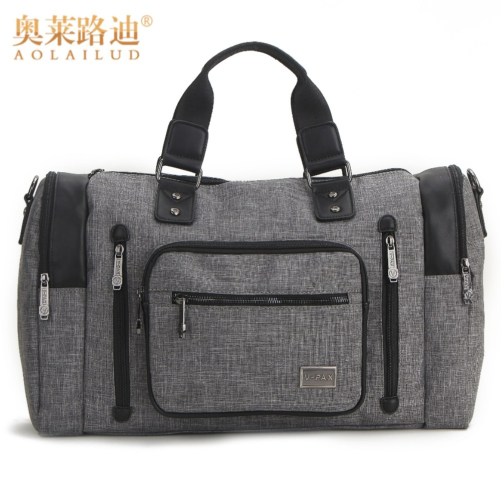 New Fashion Men Travel Bag Large Capacity Waterproof Nylon Travel Totes Strong And Durable Casual Travel Bags