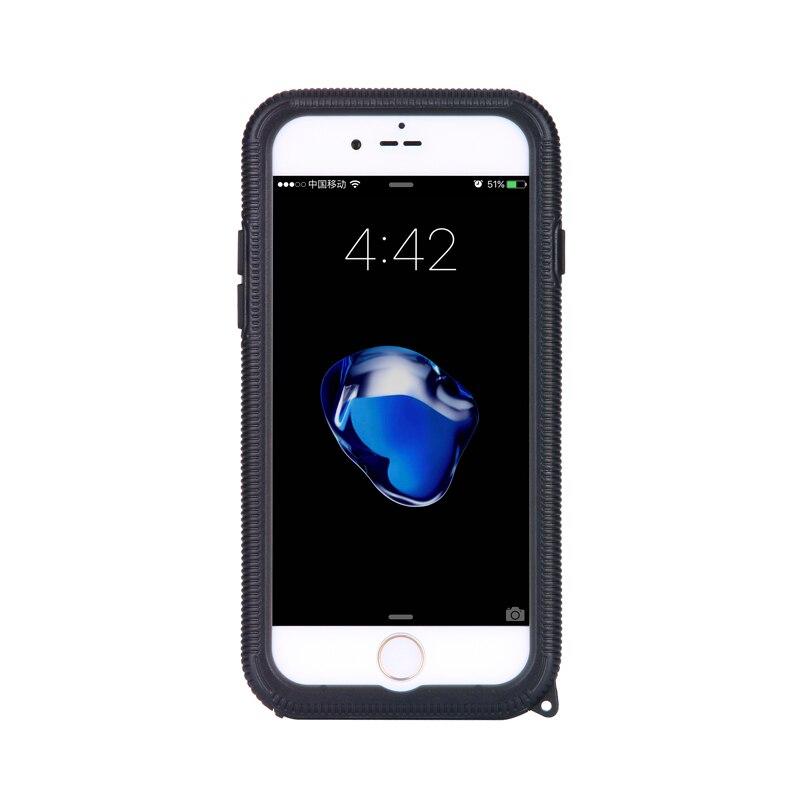 imágenes para Para el iphone 7 Caso de Lujo Delgadas A Prueba de Choques Impermeable de Goma Suave de Silicona TPU Casos de la Cubierta Táctil para el iphone 7 plus A Prueba de agua caso
