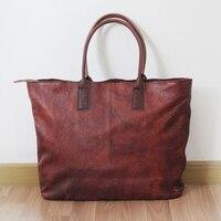 Натуральная кожа Сумка через плечо винтажная яловая бейсбольная перчатка кожаная спортивная сумка для женщин