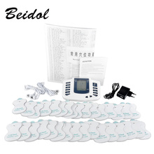 JR309 care health electric muscle stimulator Massageador pads Tens Acupuncture Therapy Machine Massager Slimming Body 16 pair