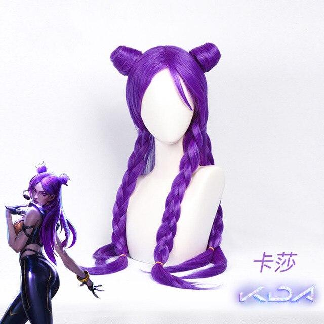 [Dec.Stock] Anime! 2018 Hot Game LOL KDA Kaisa Uniform Cosplay Costume K/DA Kai'Sa PU Leather Suit For Halloween Free Shipping 4