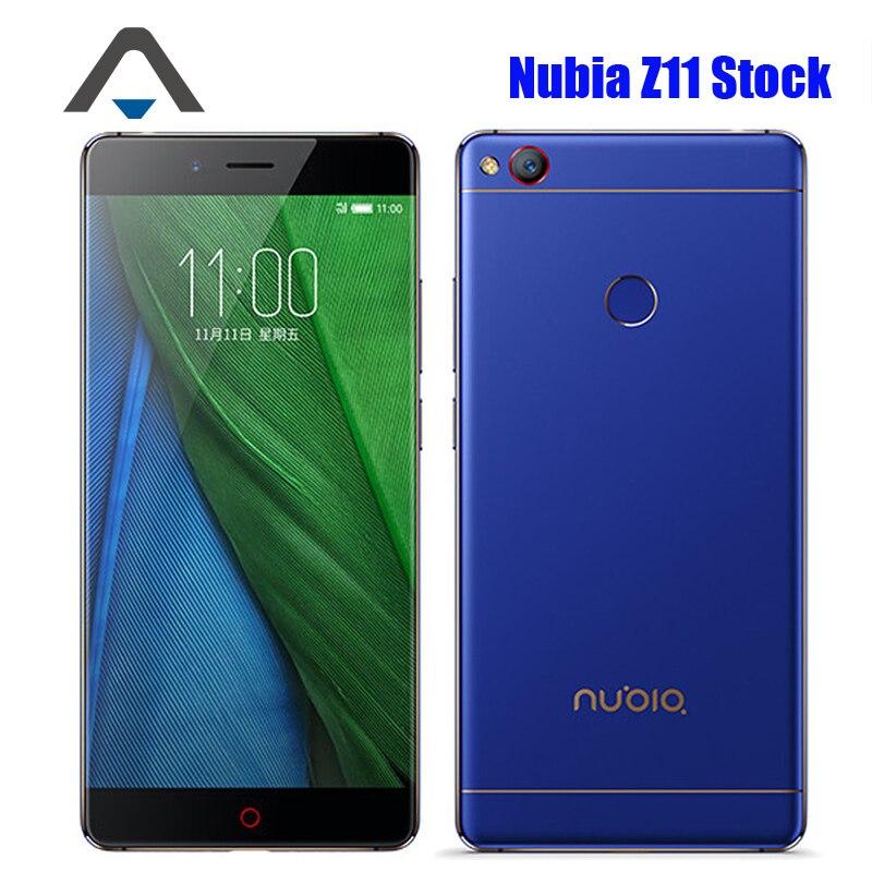 "Цена за Оригинал ZTE Nubia Z11 NX531J 4 Г LTE Мобильный Телефон Snapdragon 820 Android 6.0 Телефон 5.5 ""6 ГБ RAM 128 ГБ ROM 16MP Отпечатков Пальцев NFC"