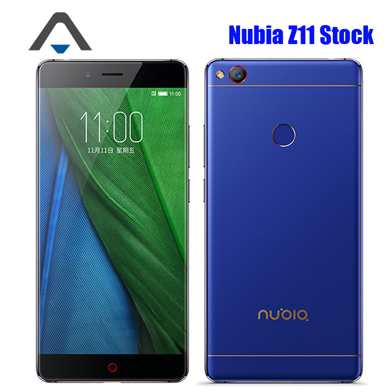 Original ZTE Nubia Z11 NX531J 4G LTE Mobile Phone Snapdragon 820 Android 6 0 Phone 5