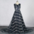 Grande Gatsby Celebrity Dresses 2016 Alta Couture Abrir Voltar Vestidos De Luxo À Noite Com Completa Frisada Robe De Soirée Vestido de Festa