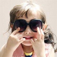 2016 Korean Sunglasses Children Boys Girls Cute Anti-UV Colorful Fashionable Sun Glasses Vintage Round Sunglasses 1212