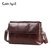 c06a9b10c02f Cobbler Legend женская сумка элегантные винтажные 2018 брендовые сумки-мессенджеры  для женщин сумки через плечо из натуральной к.
