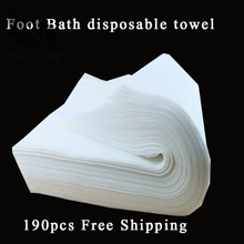 Nonwoven Fabric Towel for Outdoor Travel 28 * 58cm (190pcs a parcel) Travel Towel Nonwoven hand towel,Foot Bath disposable towel