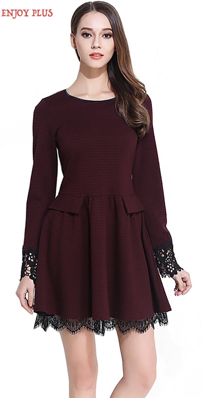 Lace dress maroon 96