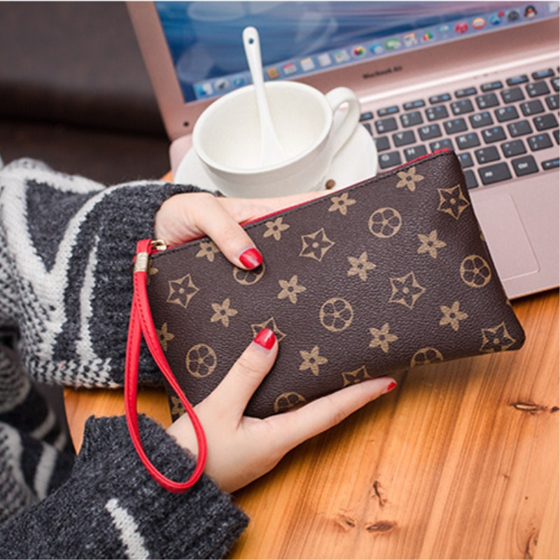 2019 New Women's Purse European And American Handbags Classic Money Phone Holder Bag Purse Coin Bag Simple Fashion Purse