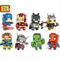 2016 nueva thor loz mini bloques super hero diy juguetes de construcción modelo niños regalos brinquedos anime subasta juguete de los niños 1401-1408