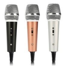 F5 Estúdio microfone condensador profissional Microfone de Mão Vocal Cardióide pick-up Music Play microfone Microfones KTV Portátil