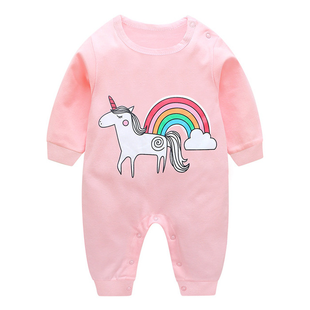 ef6752a5f9f0 2018 new baby girls boys clothes cute Cartoon baby romper high quality  cotton one piece Jumpsuit newborn baby girl clothes