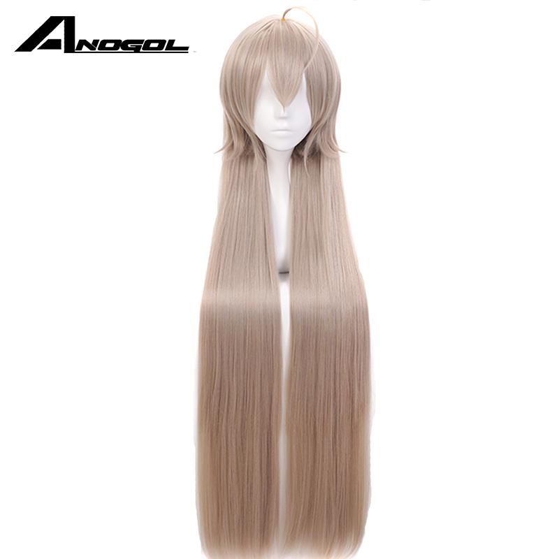 Anogol Anime Wigs Teen Titans Starfire Natural Long Straight Princess Wine Red Synthetic Cosplay Wig For Halloween Party Costume Synthetic None-lacewigs Synthetic Wigs