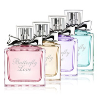MayCreate 1Set 4Pcs Men Perfume Lasting Fragrance Mini Bottle Portable Perfume For Men Male Perfume Women