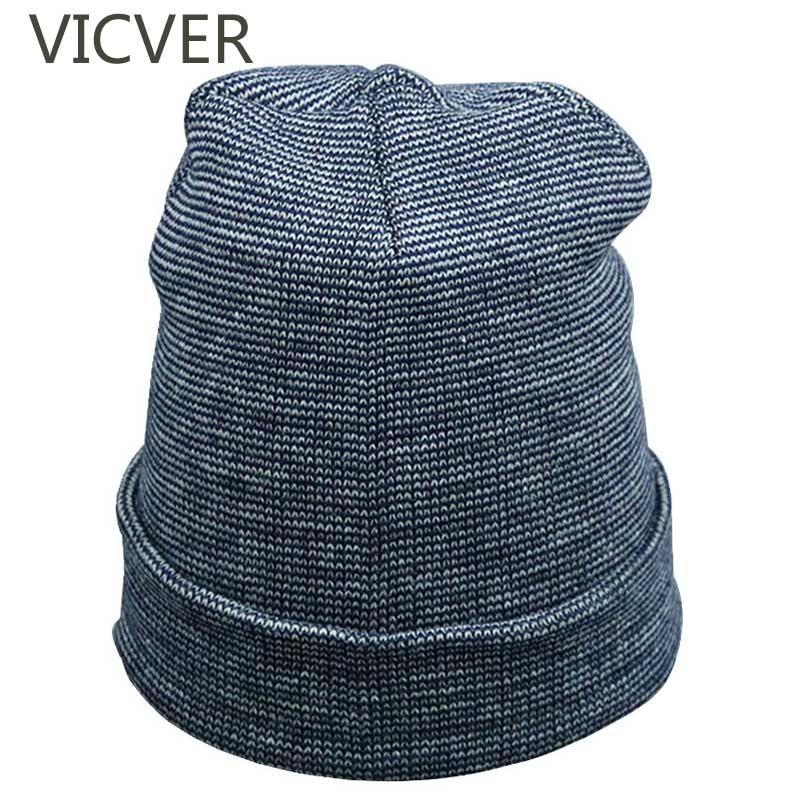 Winter Hat For Men Women Knitted Beanies Cap Casual Autumn Boys Woolen Knit Hats Girls Solid Color Skullies Beanies Unisex Caps