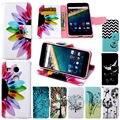 Nexus 5X Чехол Роскошный Цветок Smail Слот Для Карты Бумажник Флип книга Кожа Телефон Случаях для Google LG Nexus 5x Nexus5x Крышка мешок