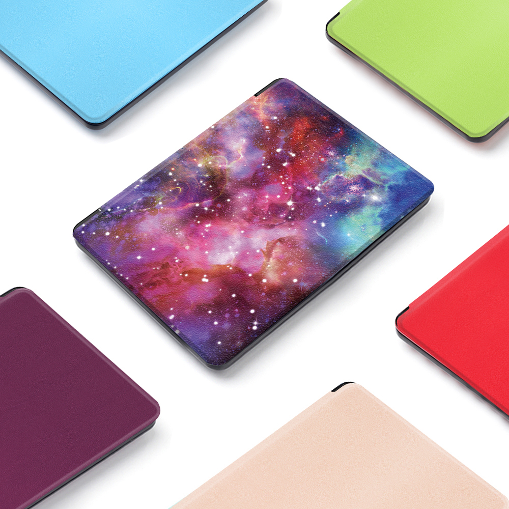 Case for 2017 Kobo Aura H2O Edition 2 6.8 inch PU Leather Ultra Slim Light Weight PC Back Case Cover for kobo aura h2o edition 2 art style magnet pu leather protective leather cover skin for 2014 kobo aura h2o 6 8 ereader smart cover case