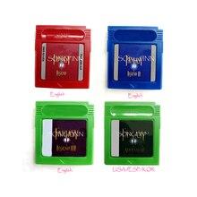 Fantasy macera efsane 1 2 3 video oyunu bellek kartuşu İngilizce dil ESP/KOR kartı 16 Bit konsol