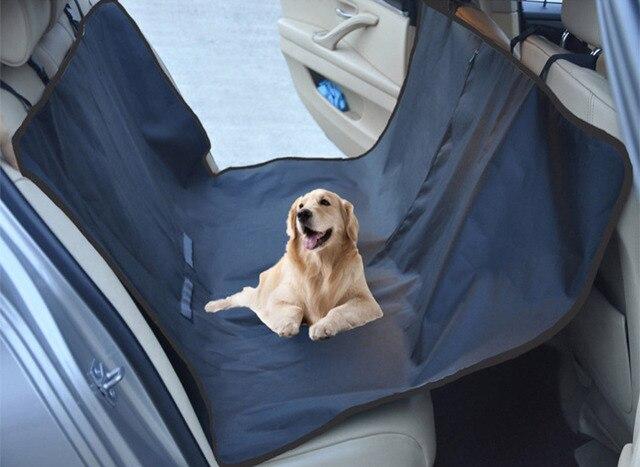 Focusign verstelbare waterdichte hond kussen pad auto bench double