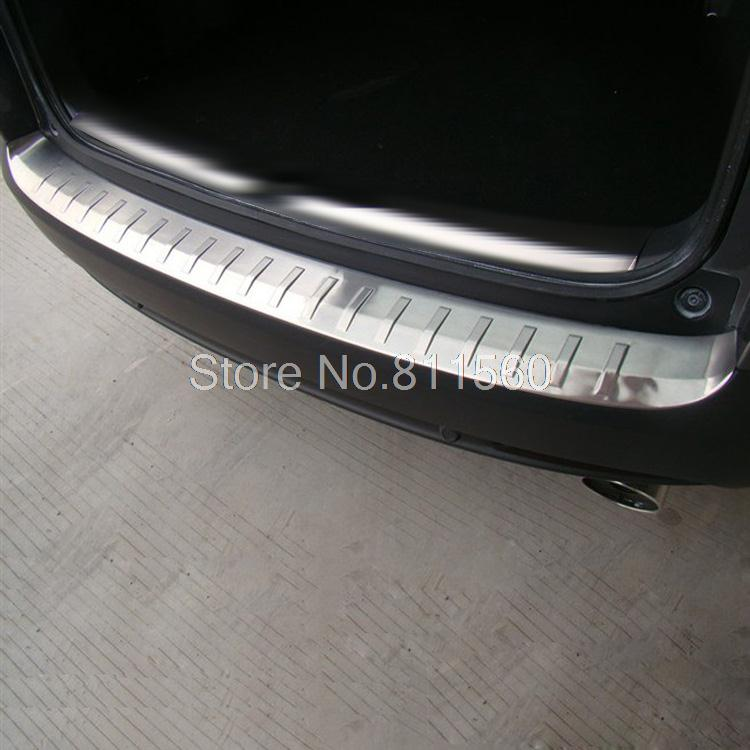 For Honda CRV 2012 Outside Stailness Steel Rear Bumper Foot Plate Trunk Plate Trunk Boot Bar Trim Auto Styling Accessories 1pcs car rear trunk security shield cargo cover for volkswagen vw tiguan 2016 2017 2018 high qualit black beige auto accessories