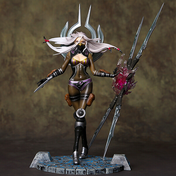 New Anime game  magic will of the blades Irelia pvc action figure limited edition doll collection model toy 23cm brinquedos