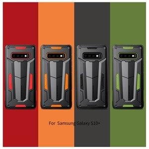 Image 2 - غطاء Nilkin لهاتف سامسونج جالاكسي S10 S9 S8 Plus غلاف واقي NILLKIN غطاء حماية قوي خلفي متين لهاتف سامسونج نوت 9 8