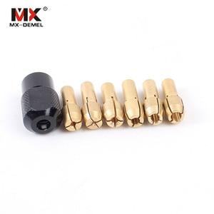 MX-DEMEL 7Pcs Dremel Brass Col