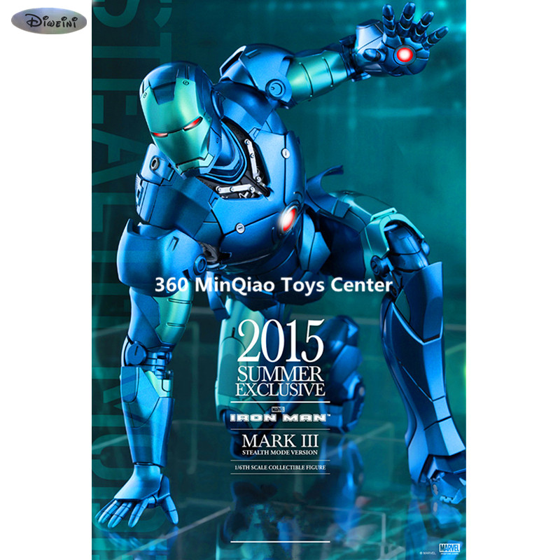 Avengers: Age of Ultron Statue Iron Man 1/6th scale Mark III (Stealth Mode Version) Collectible Figure Specification Die Cast