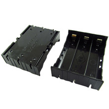 цена 10pcs/lot MasterFire Black Plastic 3 x 3.7V 18650 Batteries 6 Pin Battery Storage Box Holder Case Cover Free Shipping в интернет-магазинах