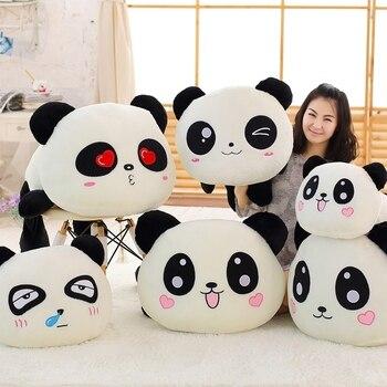 55 ซม. ใหญ่ Kawaii การ์ตูนตุ๊กตาของเล่นตุ๊กตานอนสัตว์ Panda ตุ๊กตาหมอนของเล่น Bolster ของขวัญเด็ก home Decor