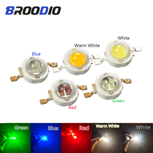 Broodio 5pcs LED Lamp Lights Bulbs Light Bead High Power Led 5W Full Spectrum Smart Ic Cob Chip Cool Warm White