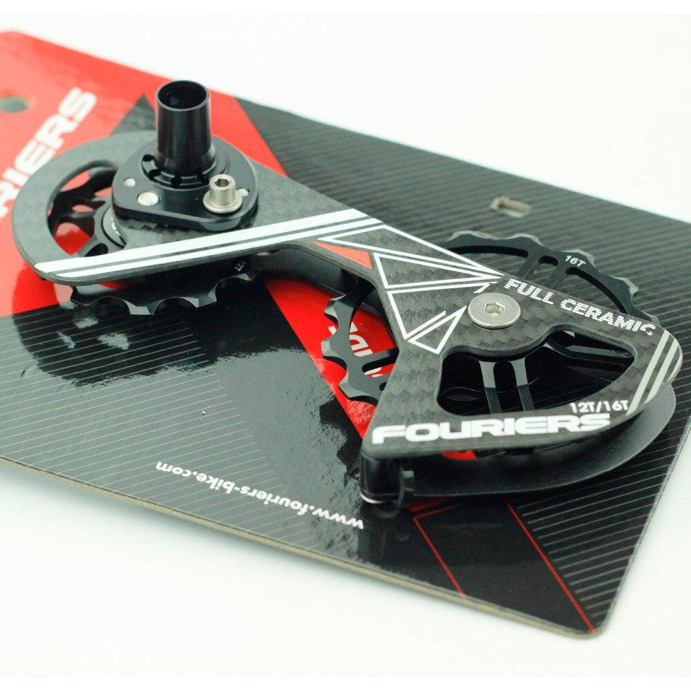 Fouriers Rennrad Schaltwerk Carbon Cage Vollkeramiklager - Radfahren - Foto 6
