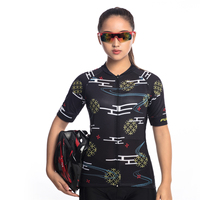 FUALRNY 2017 Women's Team Cycling Jersey T-Shirt Ropa Ciclismo Sports Clothing Bike Short Sleeve Tops