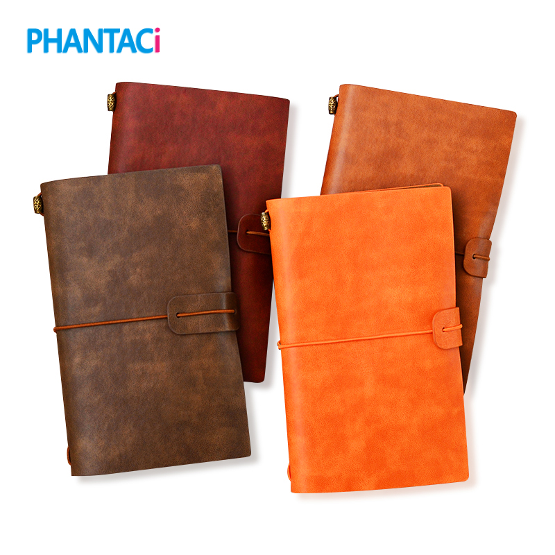 Vintage PU Leather Notebook Creative Traveler Business Paper Notebooks Diary Journal Sketchbook Planner Gift Stationery цена