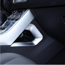 цена на For Land rover Range Rover Evoque 2017 Car Accessories Centeral Decoration U Shape Frame Trim ABS Chrome New Arrivals