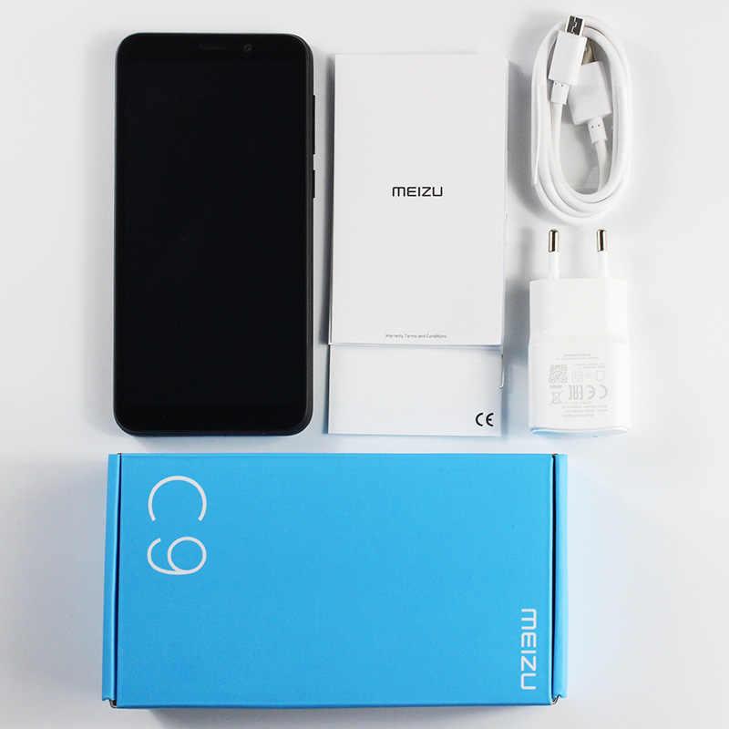 Meizu C9 2GB 16GB Version mondiale téléphone portable Quad Core 5.45 pouces 1440X720P avant 8MP arrière 13MP caméra 3000mAh batterie