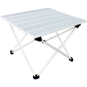 Image 2 - 알루미늄 합금 캠핑 가구 정원 접이식 테이블 캠핑 테이블