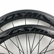587de1b5276 Top Sale 38mm 50mm COSMIC Carbon Wheels 3k UD 12K Weave Bike Wheelset 700C  Chinese OEM
