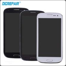 """4.8 """"Para Samsung Galaxy S3 Neo i9300i GT-i9301i i9308 LCD Display de Pantalla Táctil Digitalizador con el Conjunto Del Bastidor Del Bisel Reemplazos"""